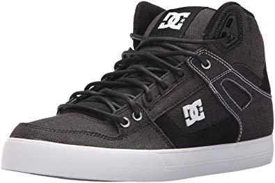 DC Men's Pure High-Top Wc Tx Le Skate Shoe